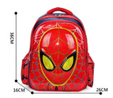 SCHOOL BAG SPIDERMAN METALIC