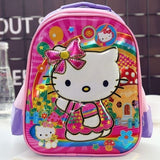 SCHOOL BAG HELLO KITTY PURPLE