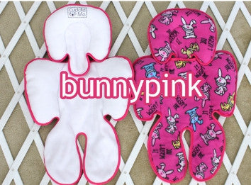 SEAT PAD BUNNY PINK