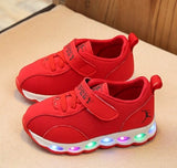 SEPATU ARROW LED - RED