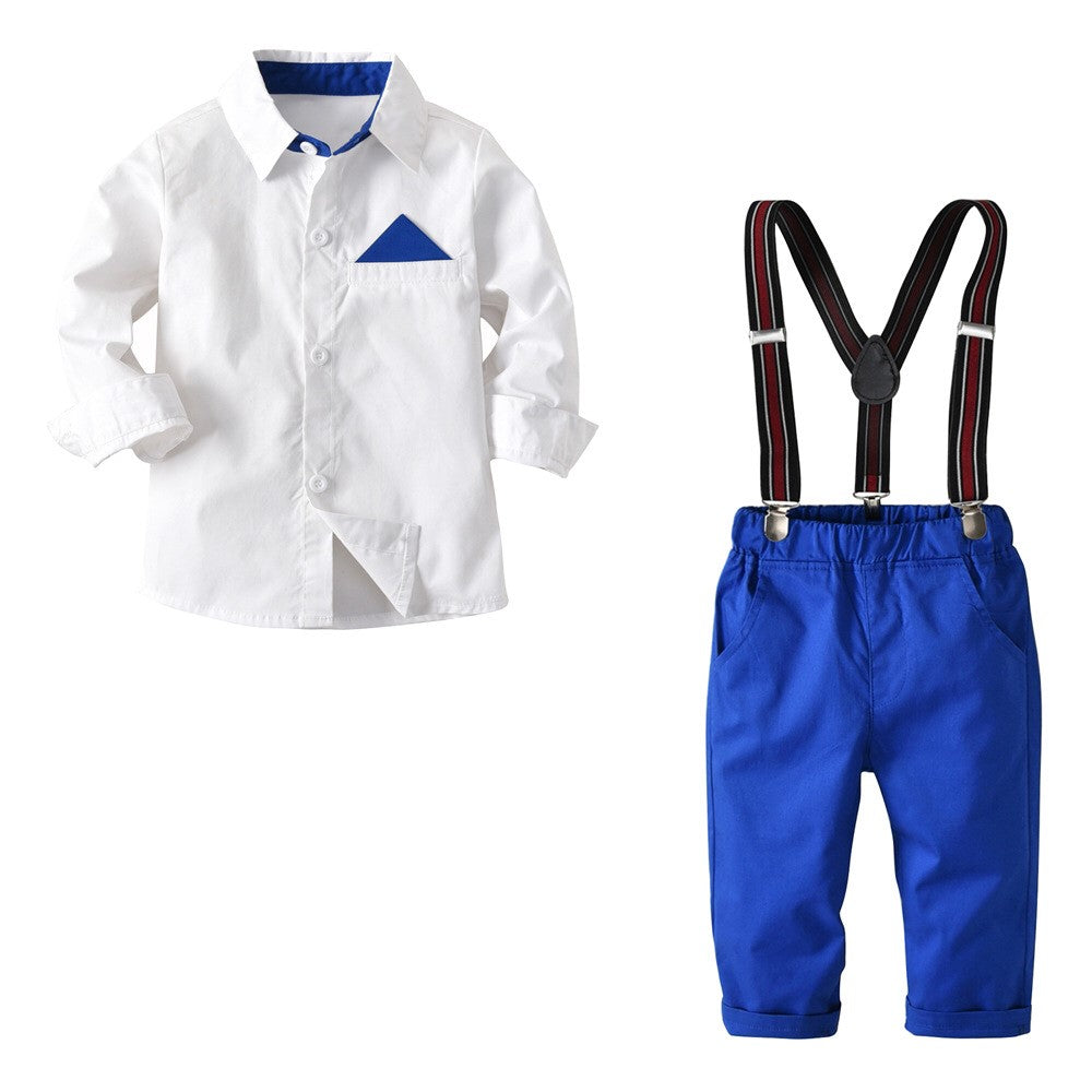 OVERALL TRIANGLE POCKET WHITE