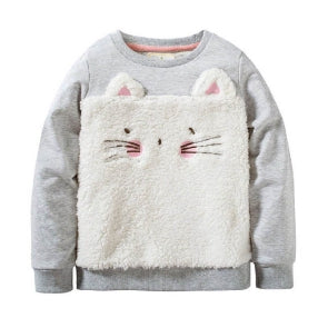 SWEATER CAT GREY