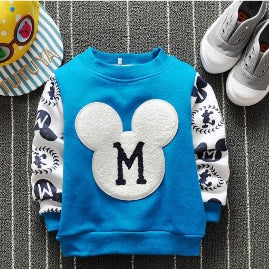 SWEATER BLUE MICKEY