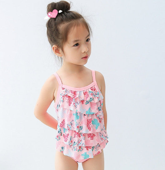 SWIMSUIT MULTILAYER PINK