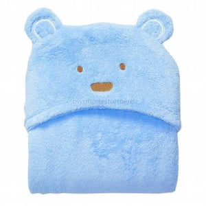 Blanket Blue Bear mata