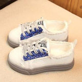 COTTON SNEAKER SHOES