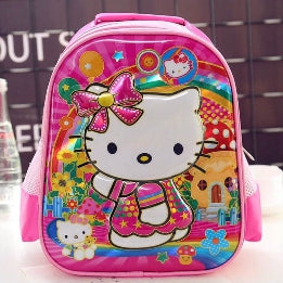 SCHOOL BAG HELLO KITTY PINK