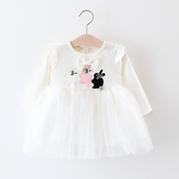DRESS RABBIT POMPOM