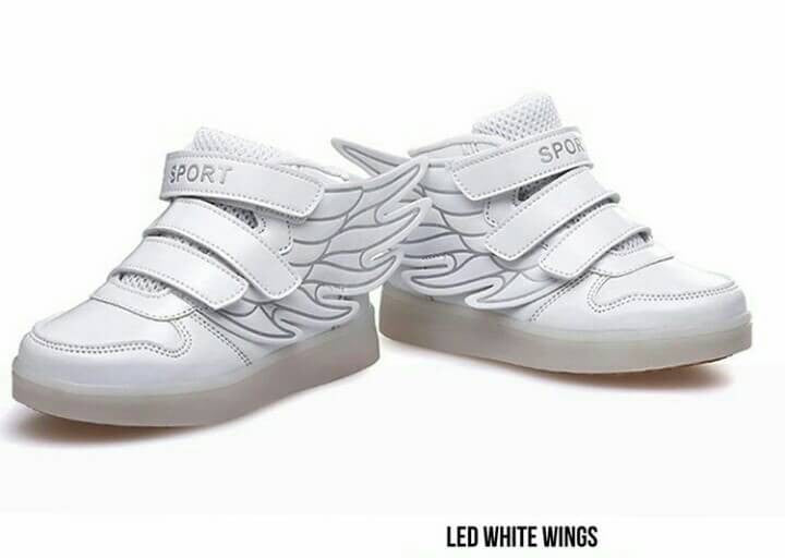 Led White Wings
