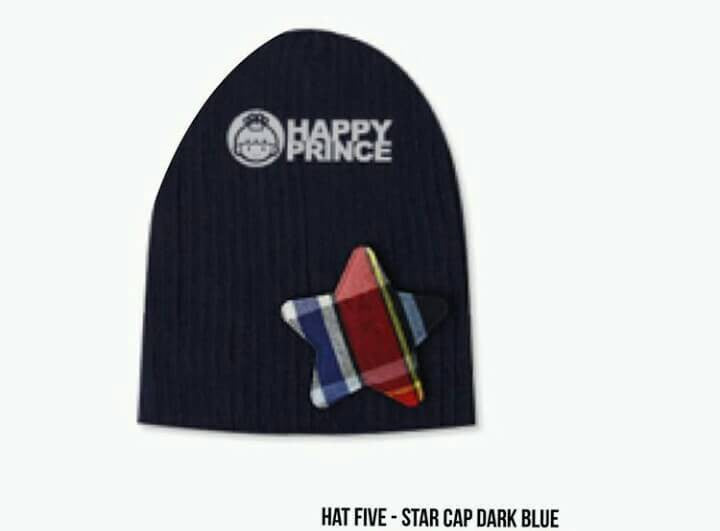 Hat Five Star Cap Dark Blue