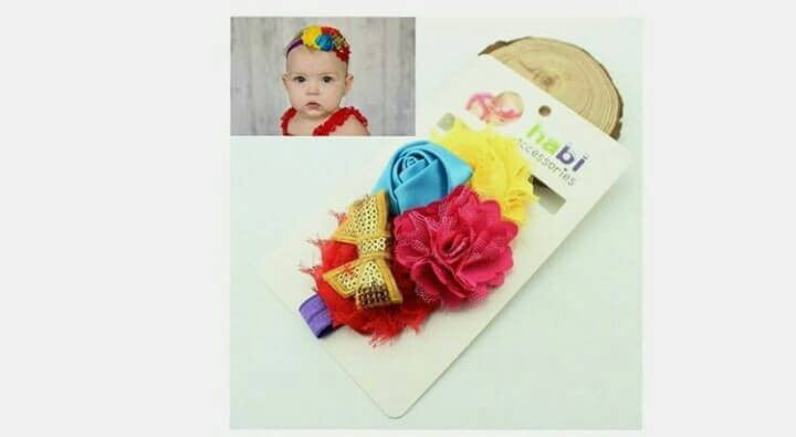 Rose Bow HB Kuning