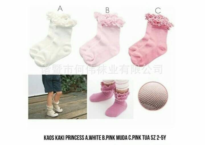 Kaos Kaki Princess