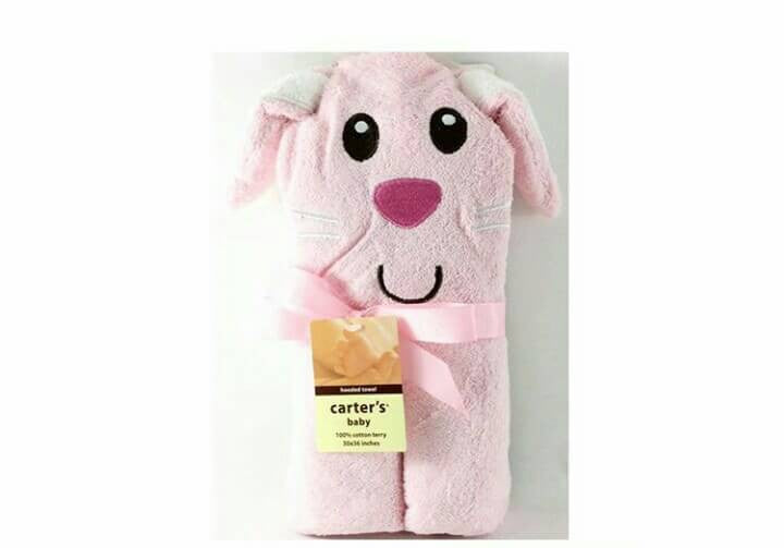 Baby Towel Pink Mouse