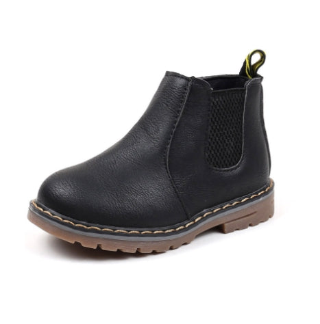 SLIP BOOTS LEATHER