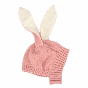 TOPI BIG EARS RABBIT PINK