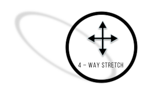 4-way stretch,