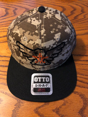 4orce of Survival SnapBack (Digital Camo/Black/Orange)