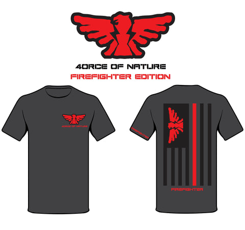 4.N Firefighter Edition Flag Shirt