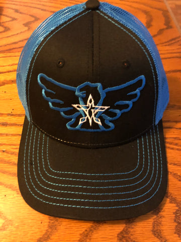 4orce of Survival Trucker Hat (Black/Blue/White)
