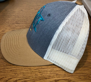 4orce Shield Trucker Hat (Khaki/Jean)