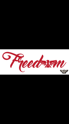 Freedom Decals (multiple colors)