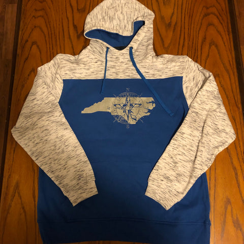 Life Compass NC Hoodie (Royal Blue/Silver)