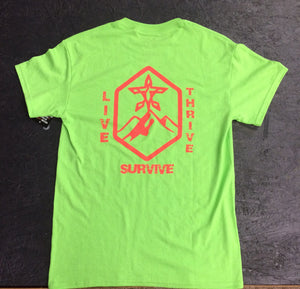 Live Thrive Survive T-Shirt (multiple colors)