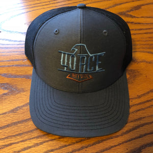 4orce Shield Trucker Hat (Charcoal/Black)