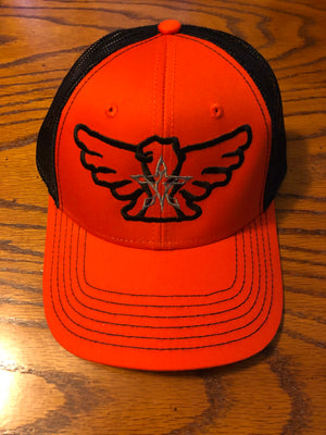 4orce of Survival Trucker Hat (Black/Orange/Silver)