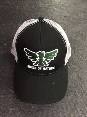 4orce of Nature Trucker Hat (black/white/green)