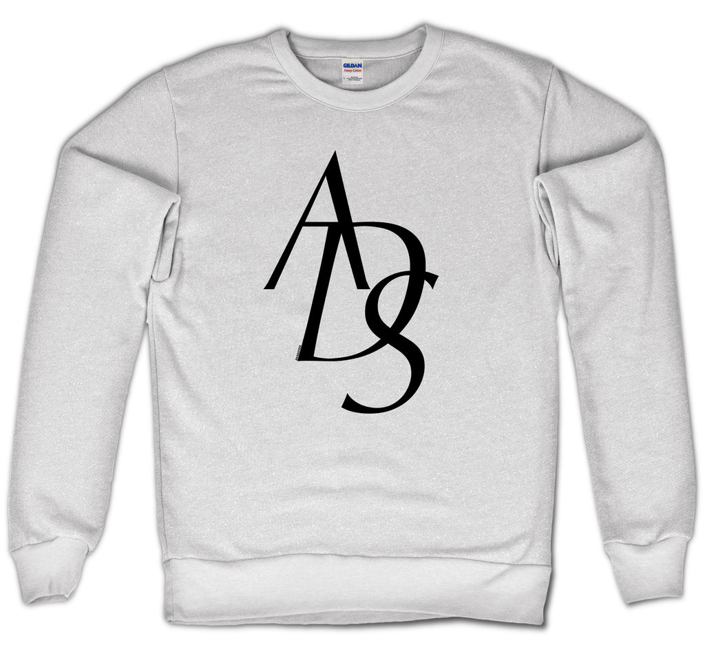 ADOPT DON'T SHOP - CREWNECK (WHITE)