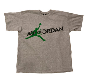 AIR JORDAN GREEN BEAN (GREY)