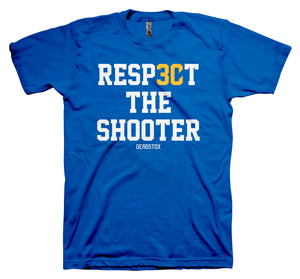 RESPECT THE SHOOTER (ROYAL)