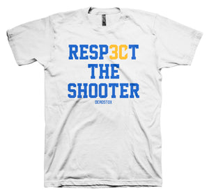 RESPECT THE SHOOTER (WHITE)