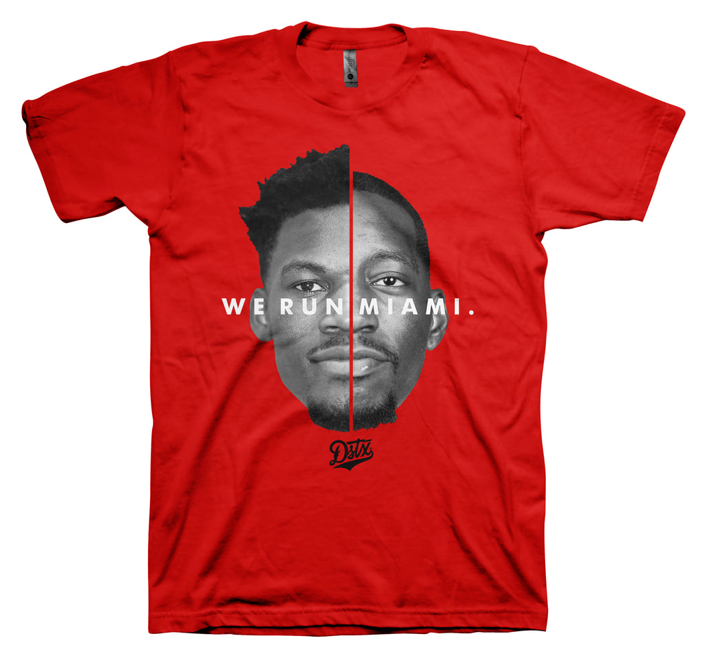 WE RUN MIAMI - JIMMY/BAM (RED)