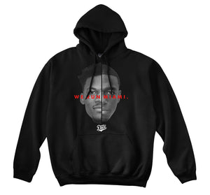WE RUN MIAMI HOODIE (BLACK)