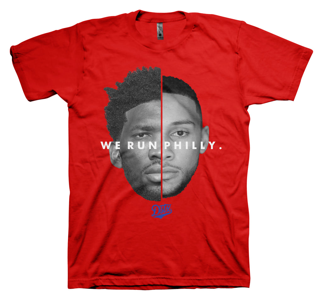 WE RUN PHILLY (RED)
