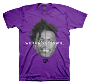 WE RUN SACTOWN (PURPLE)