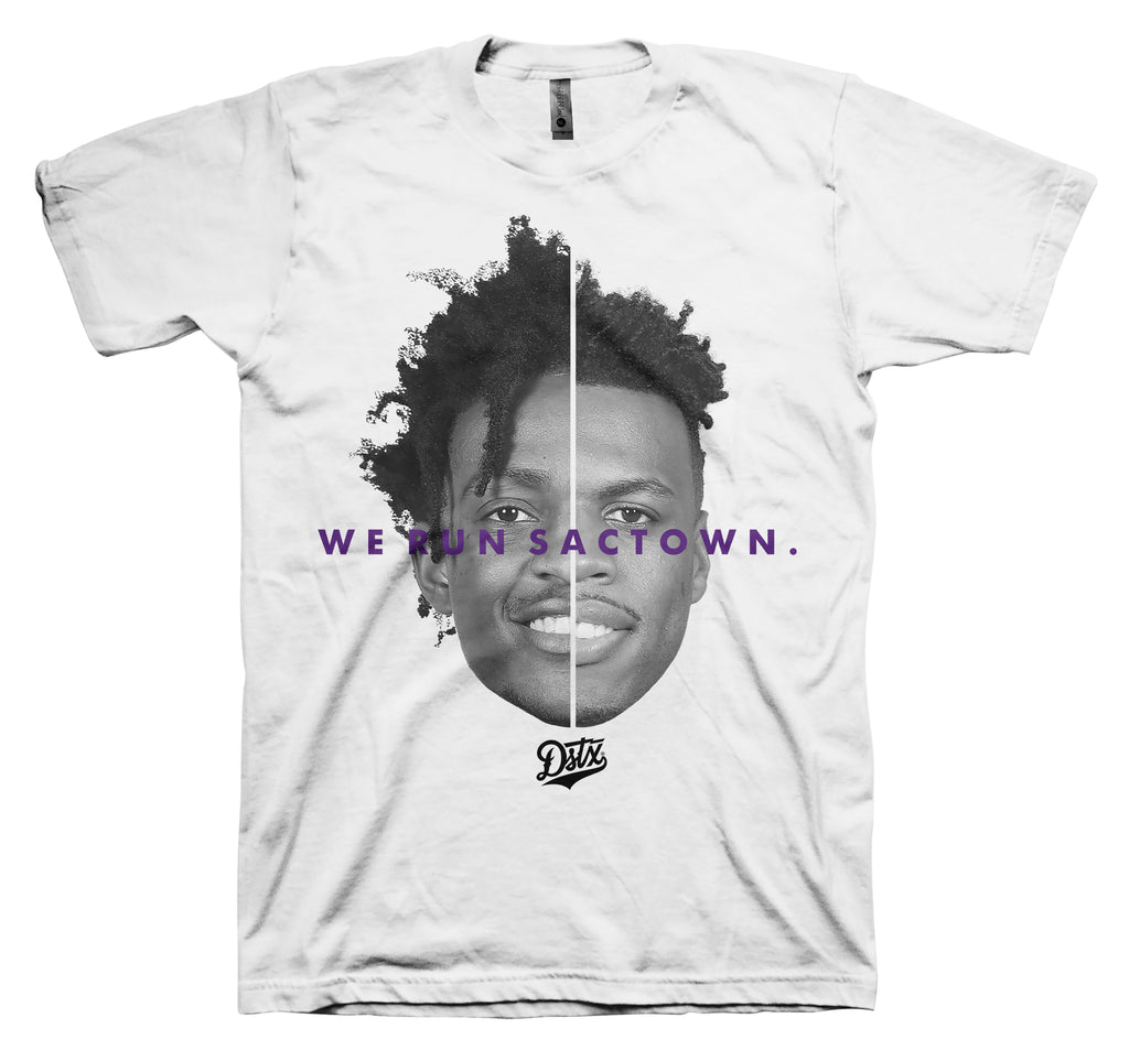 WE RUN SACTOWN (WHITE)