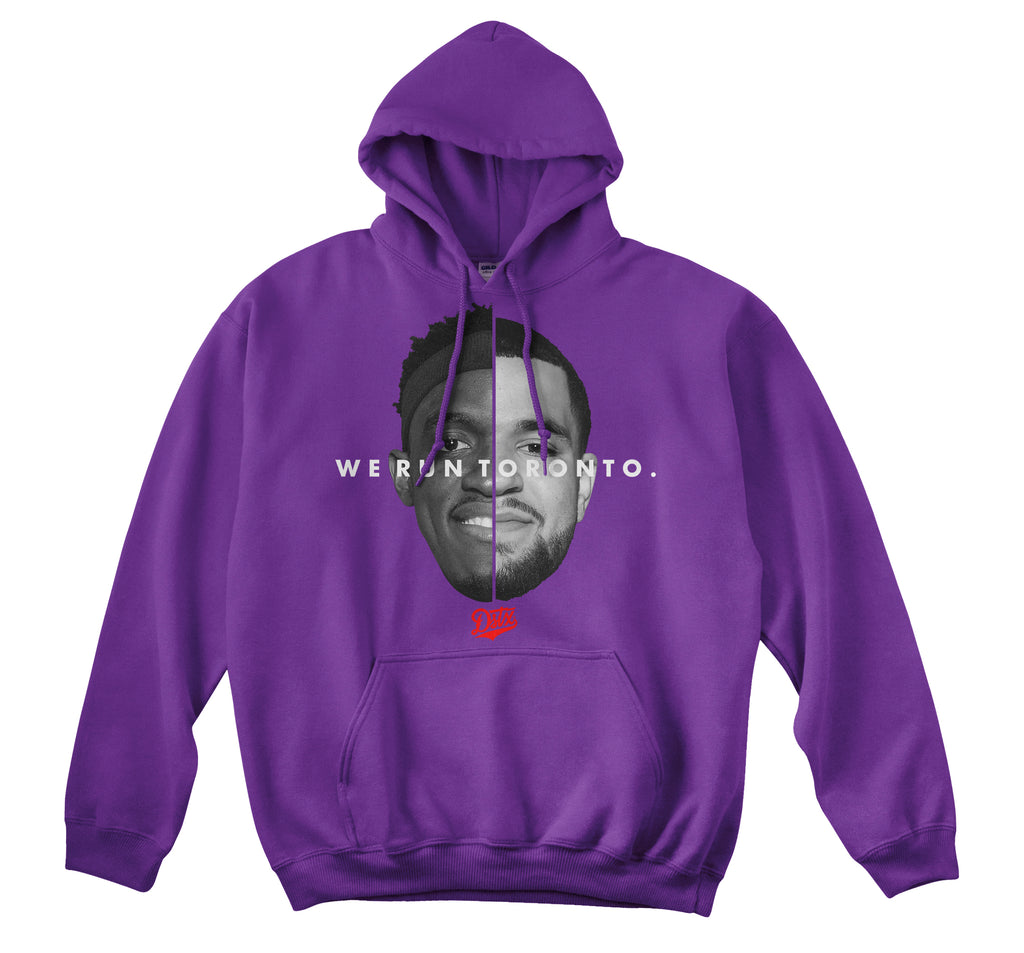 WE RUN TORONTO - HOODIE (PURPLE)