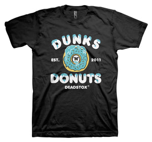 DUNKS 'N DONUTS (BLACK)