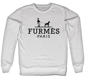 FURMES CREWNECK - DOG (WHITE)