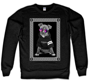 NEW LOVE CREWNECK - DOG V2 (BLACK)