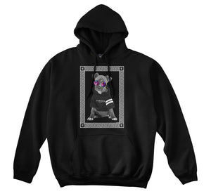 NEW LOVE HOODIE - DOG V2 (BLACK)