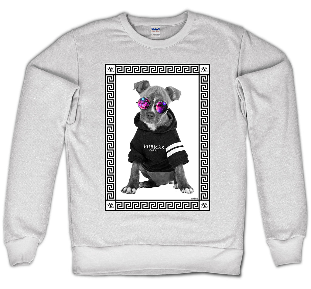 NEW LOVE CREWNECK - DOG V2 (WHITE)