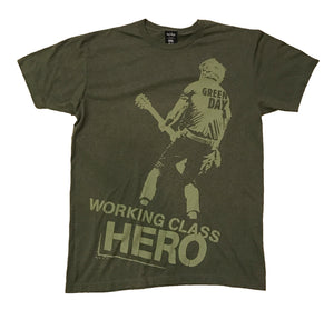 GREEN DAY WORKING CLASS HERO (GREEN)