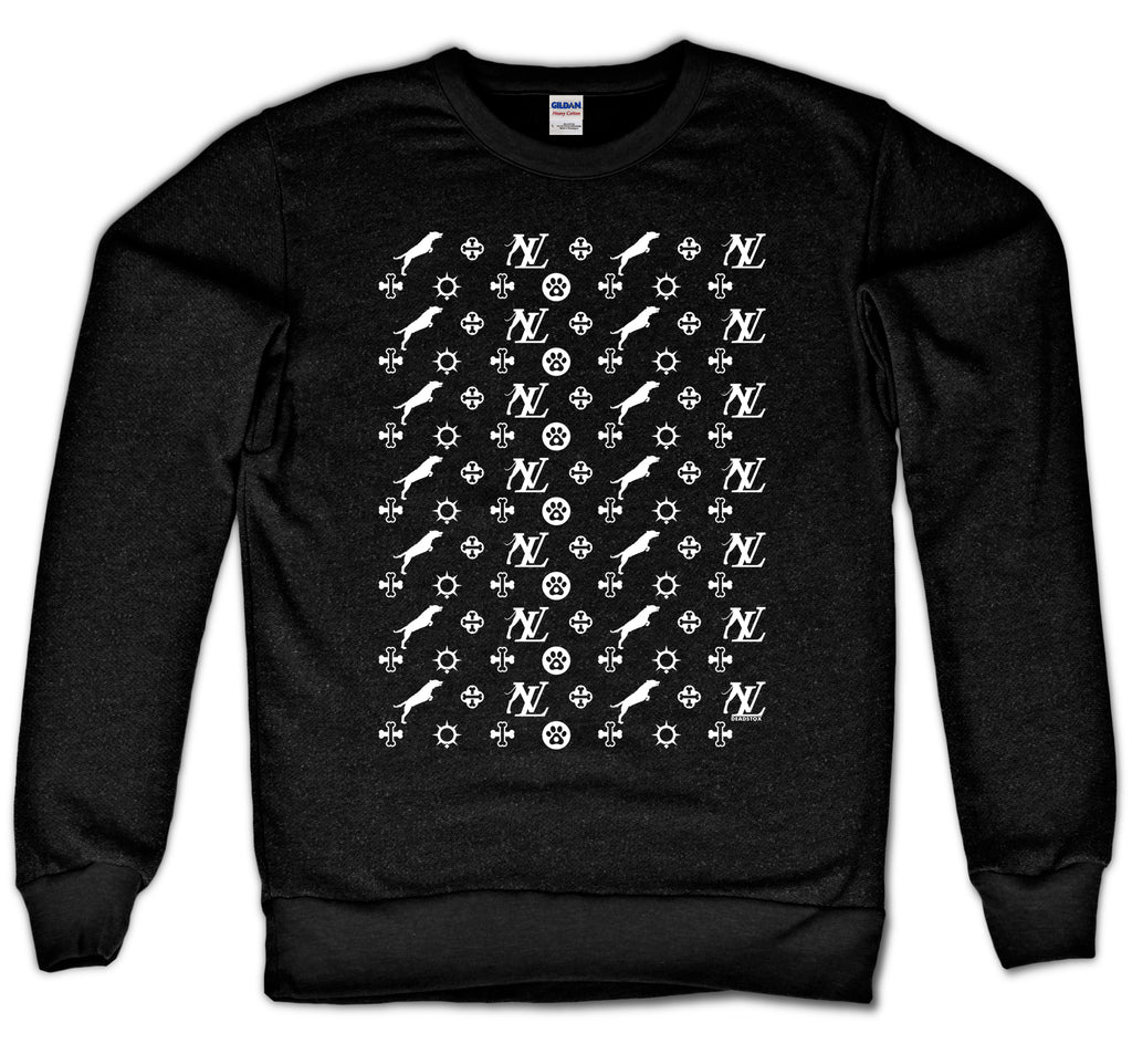 LOUIS P CREWNECK - DOG (BLACK)