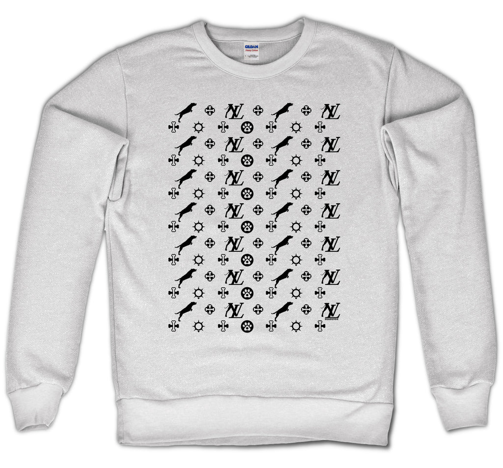 LOUIS P CREWNECK - DOG (WHITE)