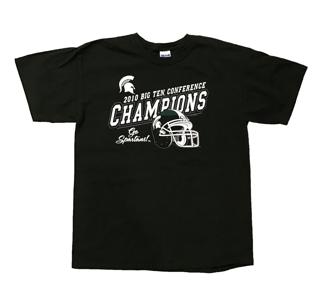 MICHIGAN STATE 2010 BIG TEN CONFERENCE CHAMPIONS (GREEN)