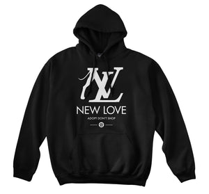 NEW LOVE HOODIE - DOG (BLACK)